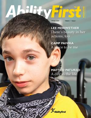 AbilityFirst Magazine cover