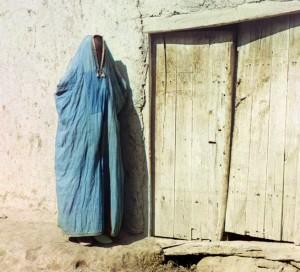 Sart woman in Uzbekhistan (1910)