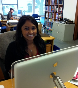 Sabrina Maharaj, our new media associate