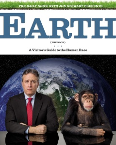 "Cover of Jon Stewart's ""Earth (the Book)"""