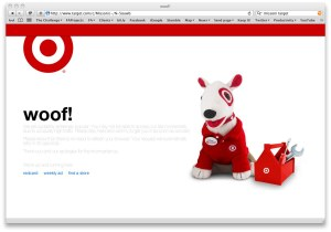 "Target ""too much traffic"" page"