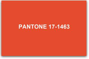 pantone 2012-01 tangerine tango