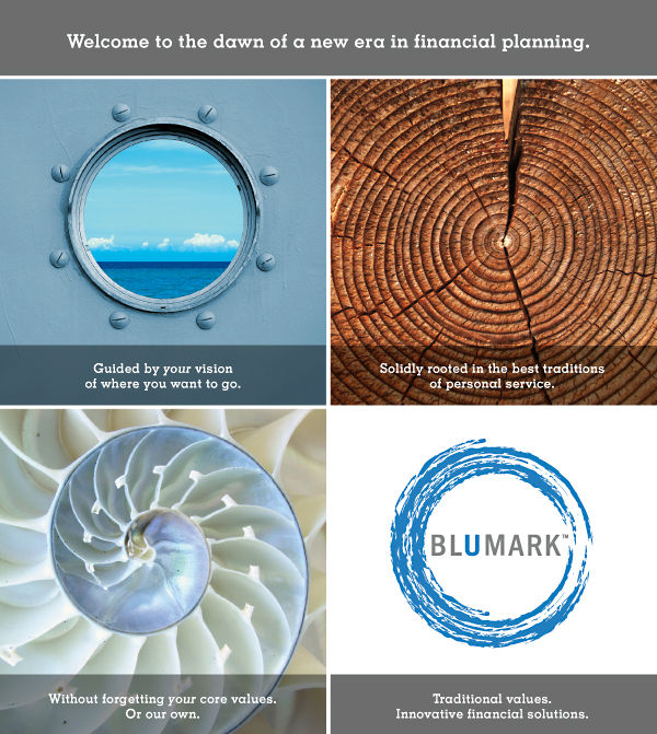 Blumark launch email image