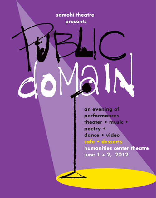 Poster for Public Domain at Santa Monica High School