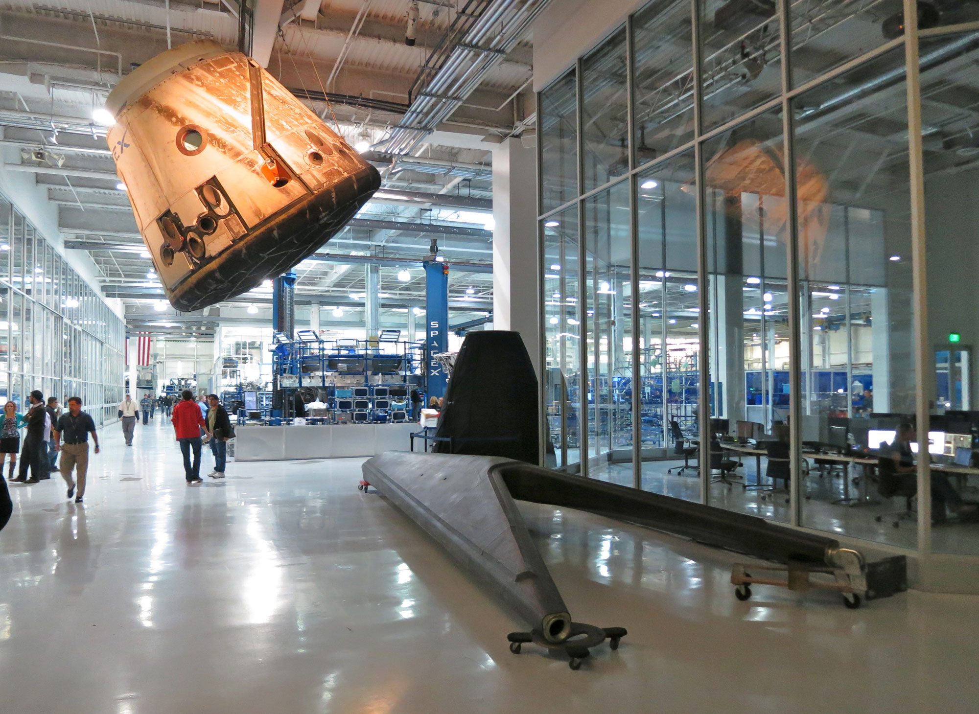 inside spacex factory - photo #12