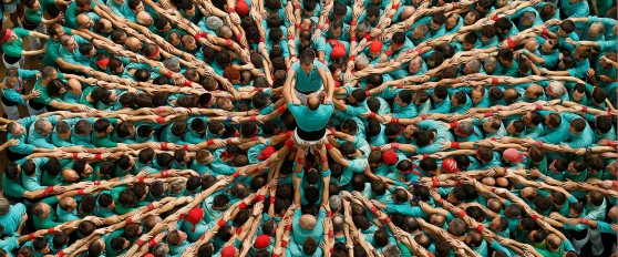 castells-human-towers-catalonia-spain