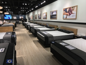 Sealy's 14,000 sf showroom.