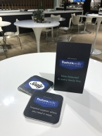 An alternative version of the tent cards focuses on the new Posturepedic positioning.
